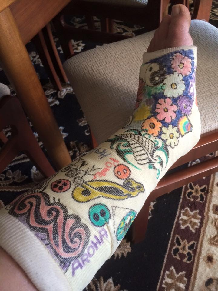 My artistic cast