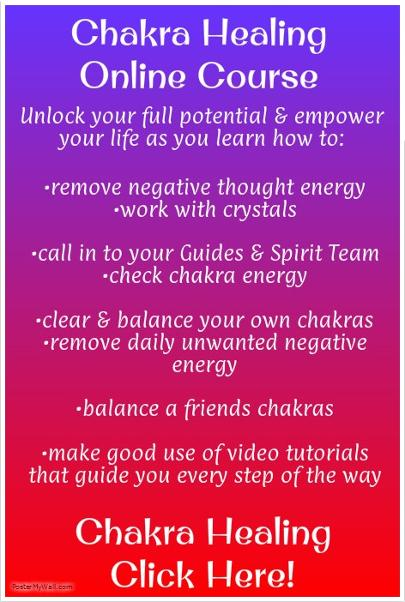 Chakra Healing Online Course Here
